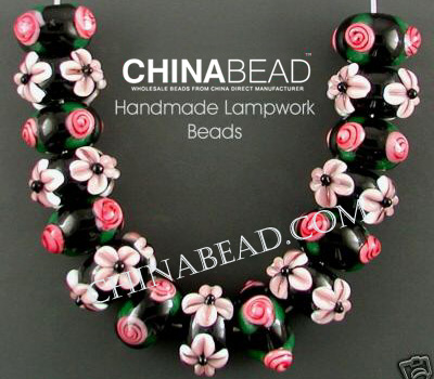 Combination Lampwork Glass Bead Sets